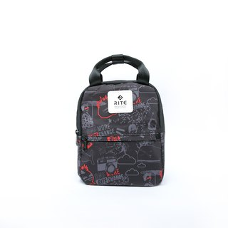 [RITE] Le Tour Series - Dual-use Mini Backpack - PUNK Black