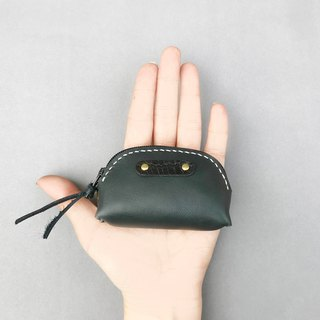 POPO│ iron gray │ palm. lightweight small purse │ real leather -2