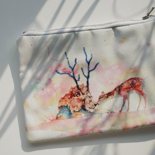Multifunction Small Items Bag MB-004 Lion and Deer