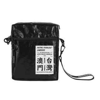 Faith & Fearless x AM0000 Union Bag _ Black