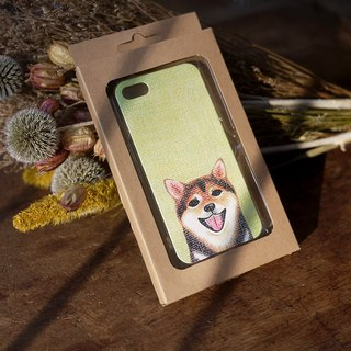 [Shiba Inu-double mobile phone shell] Iphone7 spot do not have to wait