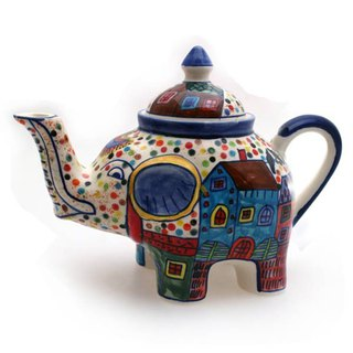 House Series - Elephant Teapot