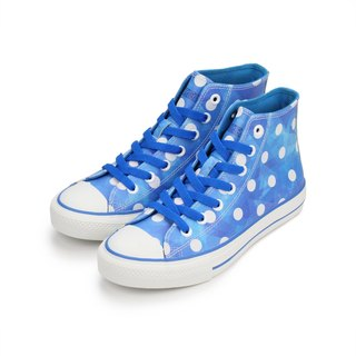PI-ZERO Azure blue azure marine leather classic plus sulfur shoes <36# 37#>