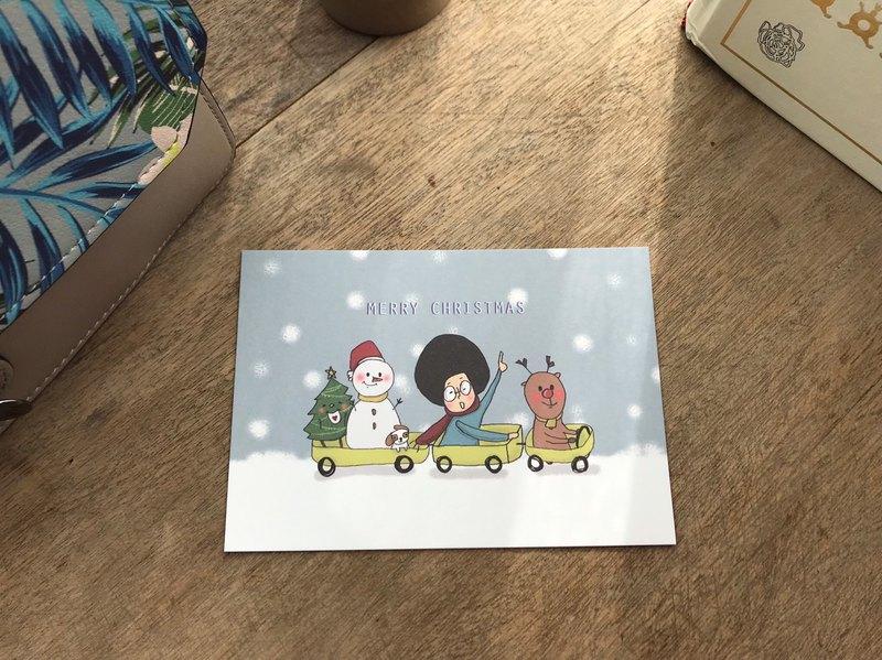 | Merry Christmas |聖誕卡片 02