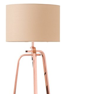 BNL00001- copper metal table lamp
