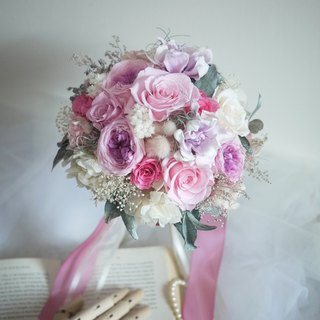 ♥ flowers daily ♥ bride without flowers bouquet (with the same section of a corsage)