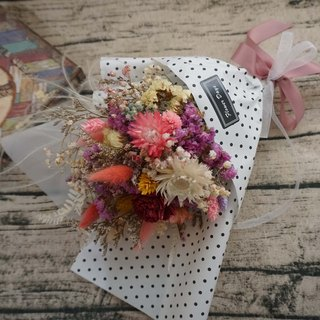 Not withered. Eternal flowers - to picnic ~ Korean dry bouquet -*exchange gift*Valentine's Day*wedding*birthday gift*graduation*photo props