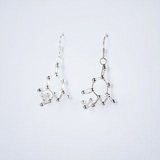 [Chemical Beauty] sleeping pills sterling silver earrings