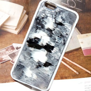 Handmade phone case, Resin with Pearl pigments, abstract