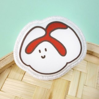 Snack Series - (pork buns) cloth brooch / badge (BDS04)