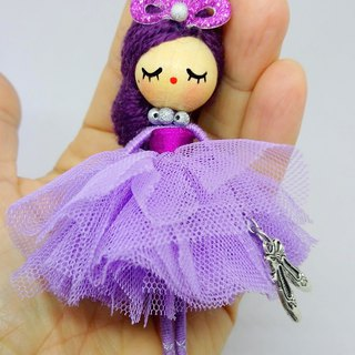 Ballerina  Doll necklace
