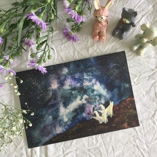"""Starry Night"" series - ""companions"" postcards"