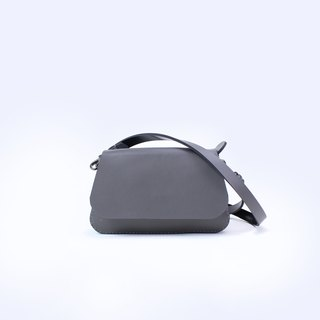 Tanela 3-in-1 dark grey shoulder bag/hand carry bag/waist bag