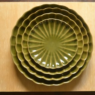 Off-the-shelf summer tree green reunion flower disk set (4 pieces in total)