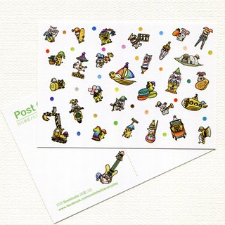 Happy birthday every day (April birthday) series / smile Hello Smilehello illustration log postcard