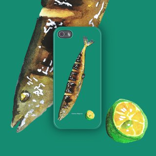 Common saury / 2016 / phone case