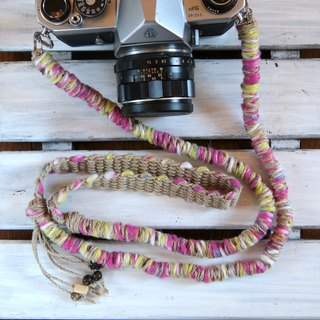 Number limit / Fleece tape yarn hemp string hemp camera strap / belt