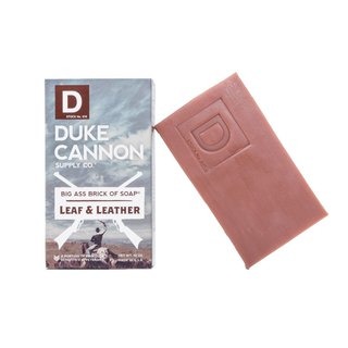 Duke Cannon BIG ASS Tobacco Leather Soap
