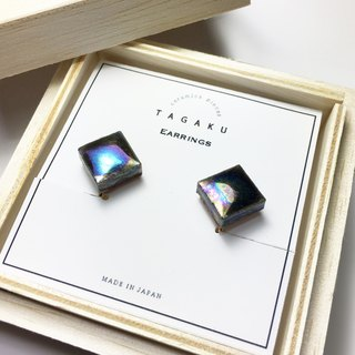 TE-129 Porcelain Tile Earrings