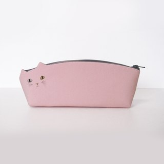 Pink cat pen case [MTO]