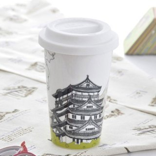 JB Design I am not a paper cup ~ Osaka Castle in Japan