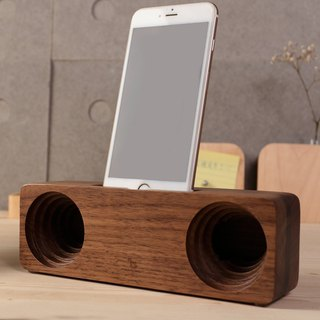 Anjos mobile phone amplifier (walnut)