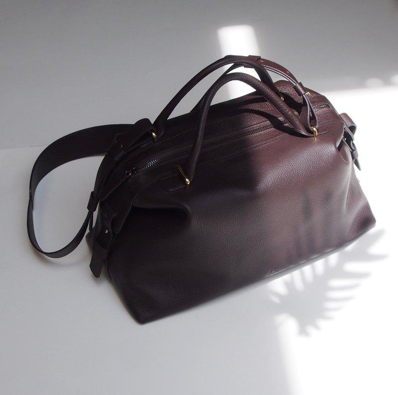 489d3628912d Leather Bowling Bag Handbag - Foto Handbag All Collections ...