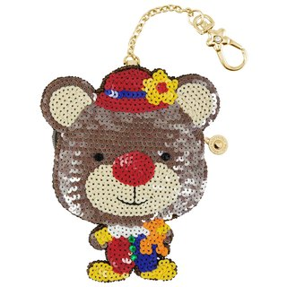 Clown Bear Coin Bag