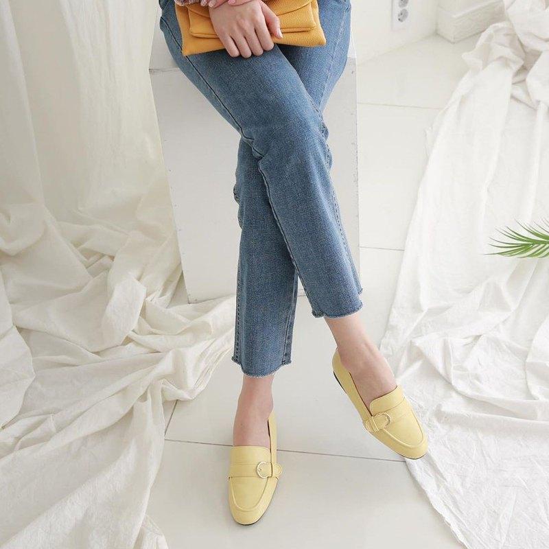 PRE-ORDER 韓國人手製 MACMOC Tommy (YELLOW) 樂福鞋