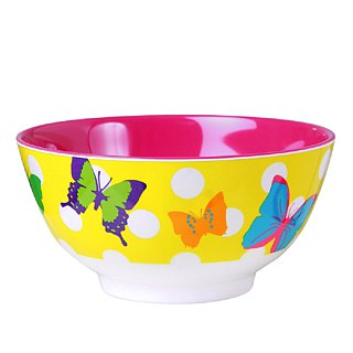 ASIAN butterfly -6 inch bowl