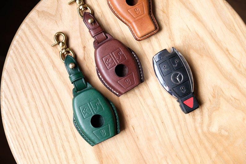 Mercedes-Benz Key Case賓士車鑰匙皮套 Italian leather buttero