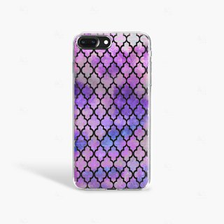 Purple iPhone 7 Case Clear iPhone 8 Case Clear iPhone 7 Plus Case Clear iPhone 6