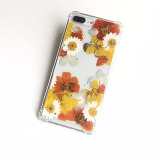 Paradise Paradise Gifts Real Flower Phone Case Apple IX Samsung S9