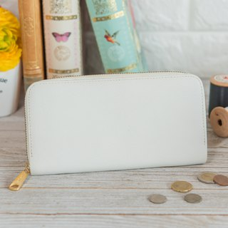 Japanese Manufactured Cowhide Capsule White Weinheimer made in JAPAN handmade leather wallet