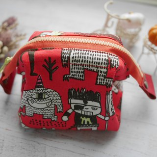 Monster small cosmetic bag.