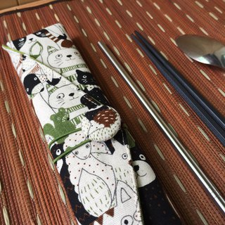 Adoubao-Chopsticks Set Pack - Green & Animal Big Collection