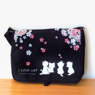 Cat Waterproof Schoolbag/Postman Pack 1