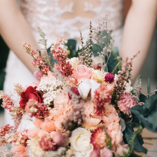 Not withered roses eucalyptus large bouquets of dry flowers without the flowers bride bridesmaid wedding wedding
