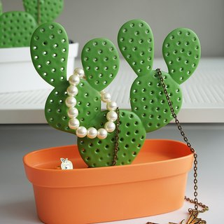[New]QUALY Cactus Jewelry Stand