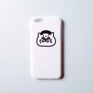 Custom white hard shell phone shell - Goro