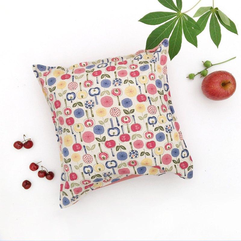 茶香抱枕-Have fun in the garden //apple&flower//