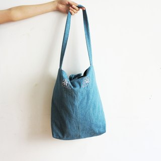 Morning Glory bag / MUDO MOTTO Handmade cloth bag