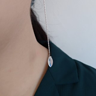【Happy tears】Moonstone Sterling silver Earring