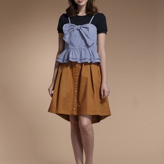 College pleats and knee skirts