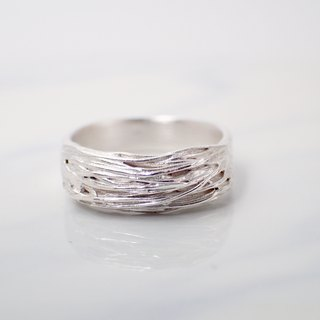 R11019 Homage to Alphonse Allais Silver 999 Ring