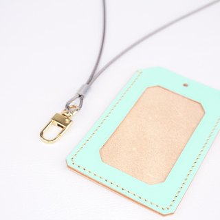 [Macaron] | ID Card Holder|Stainless Steel Lanyard Badge