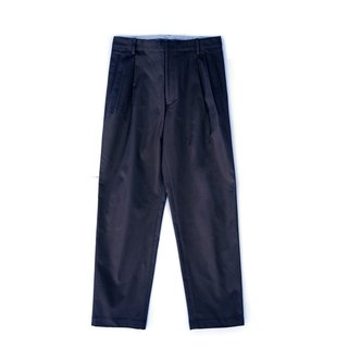 Japan A-class selection of dark blue fabric casual trousers