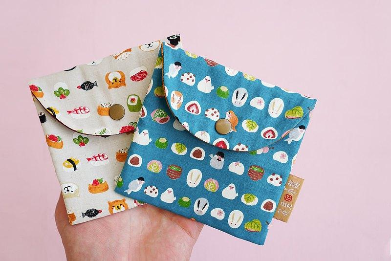 限量禮物 衛生棉包 口罩收納  動物和菓子