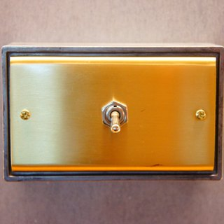 Edison-industry industrial style retro brass LOFT brass switch to open a regular size