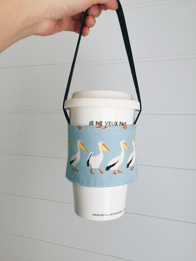 hairmo toucan green coffee cup cover (simple version)